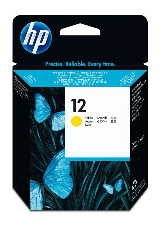 HP 12 printkop geel