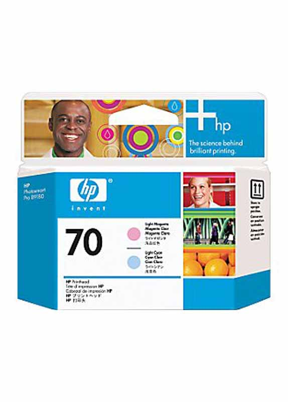 HP 70 printkop licht cyaan en licht magenta