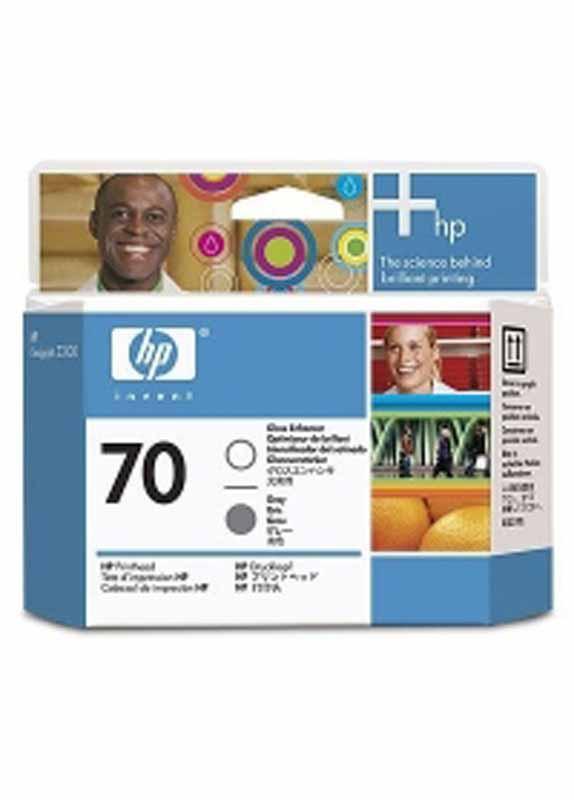 HP 70 printkop grijs en glansafwerking