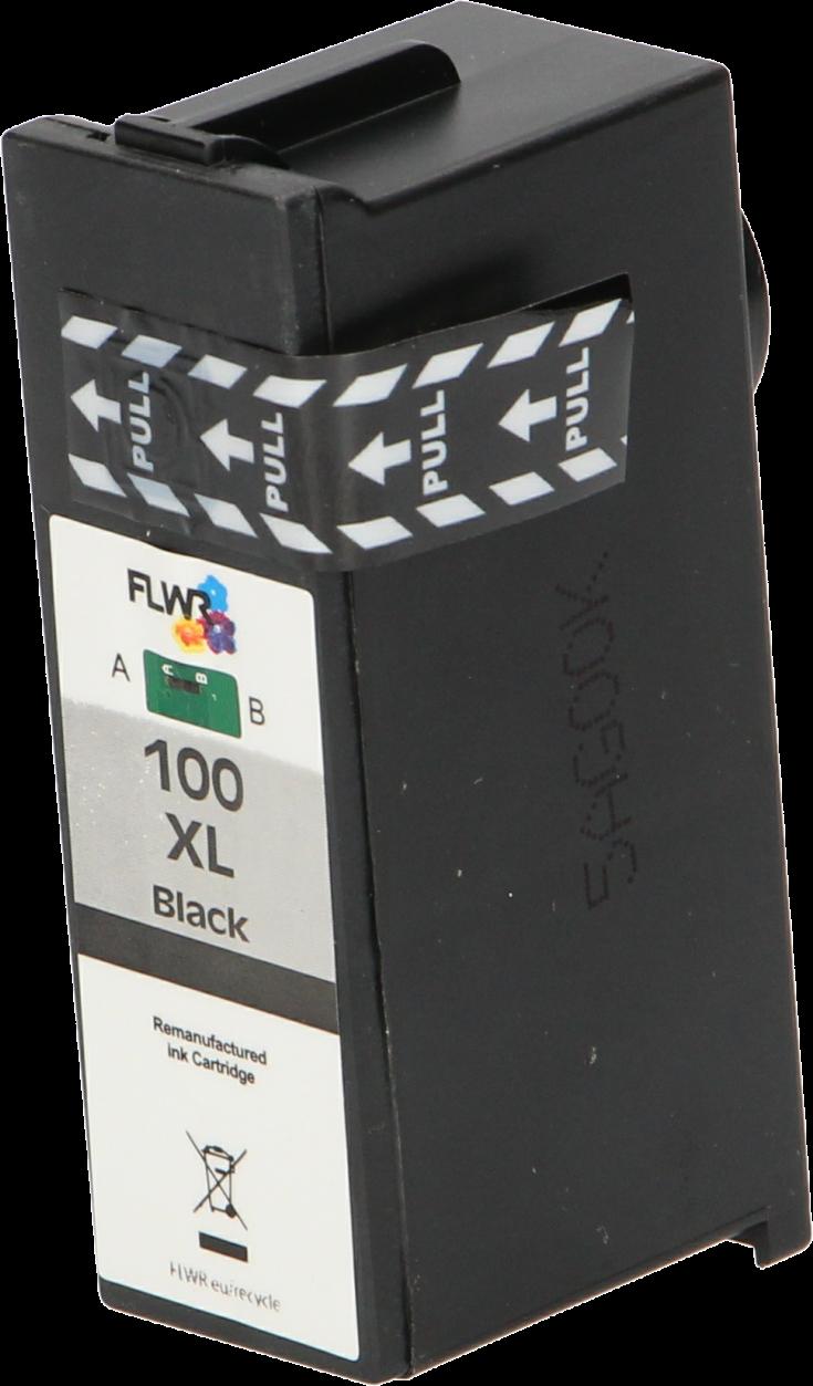 FLWR Lexmark 100XL zwart