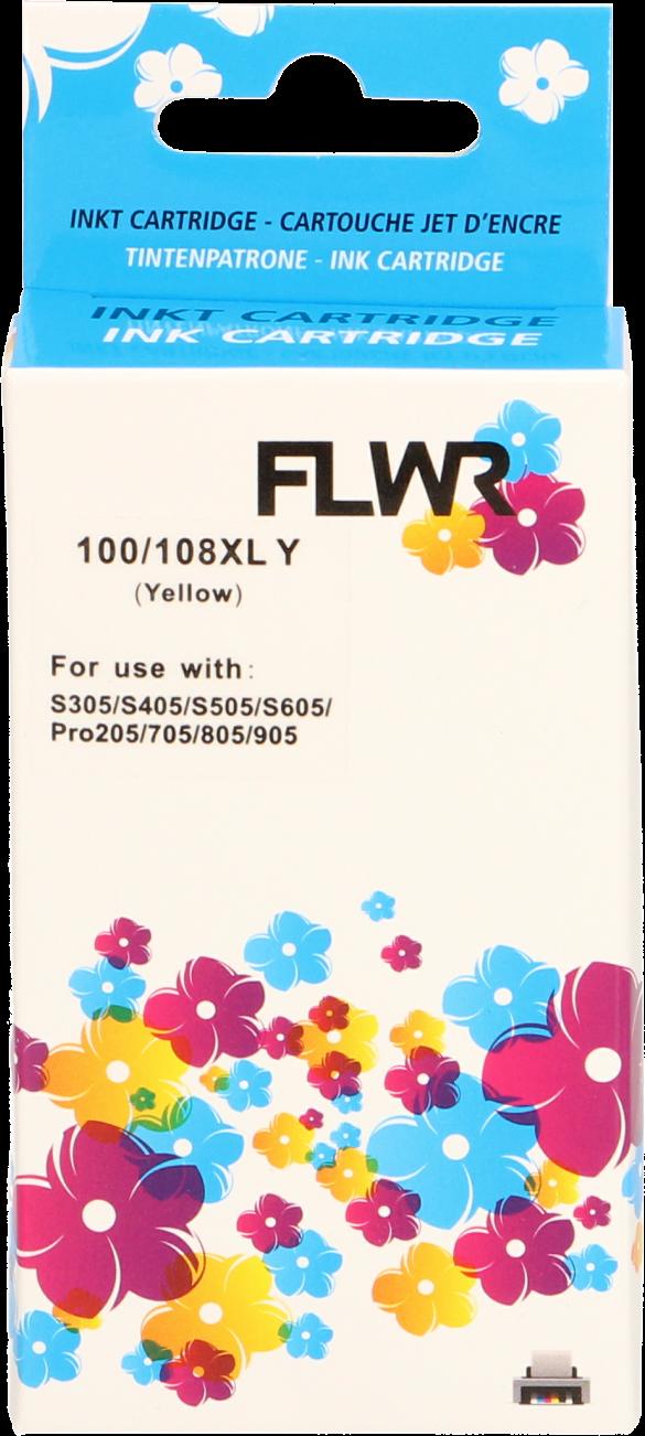 FLWR Lexmark 100XL geel