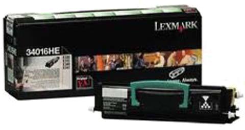 Lexmark 34016HE zwart