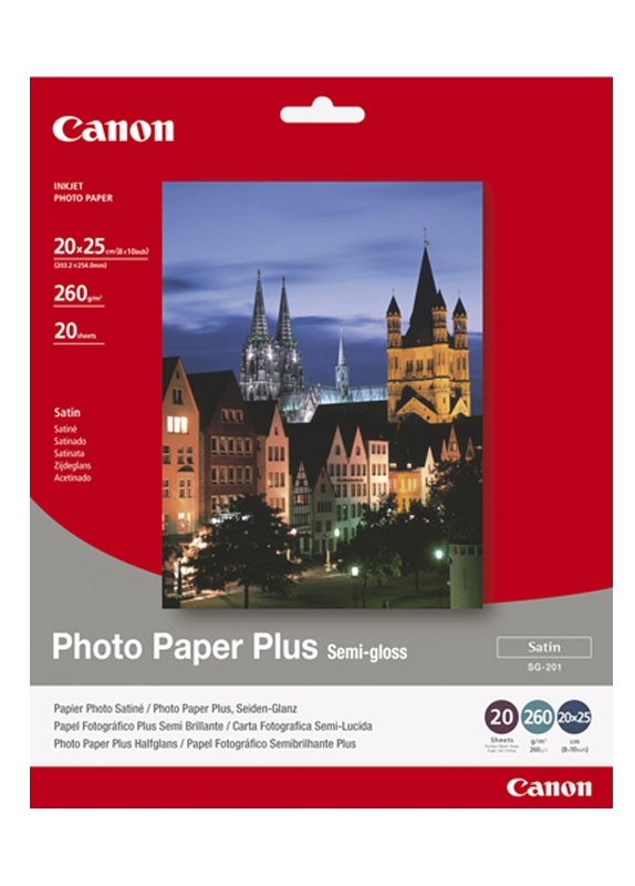 Canon SG-201 A3 semi glossy photo paper