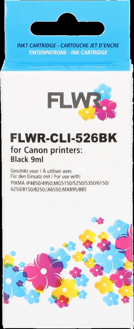 FLWR Canon CLI-526BK zwart