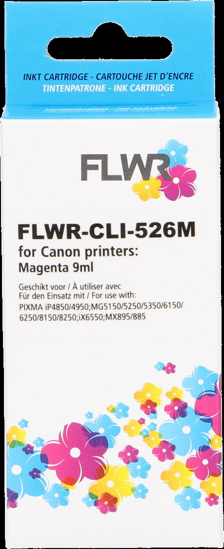 FLWR Canon CLI-526M magenta
