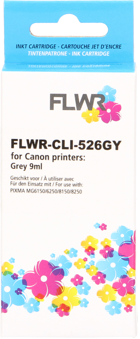 FLWR Canon CLI-526GY grijs