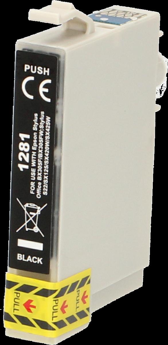 FLWR Epson T1281 zwart