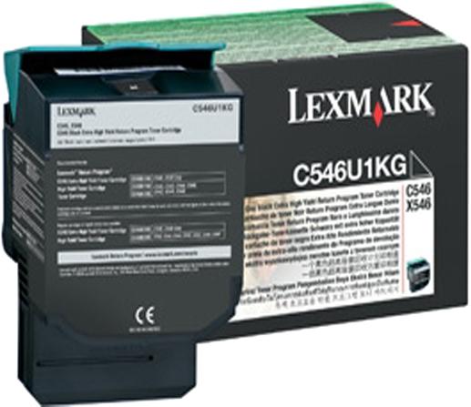 Lexmark C546U1KG zwart