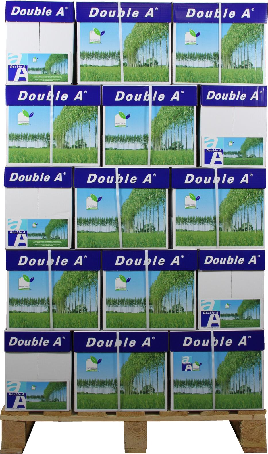 Double A Premium A4 Papier 200 pakken (80 grams) wit