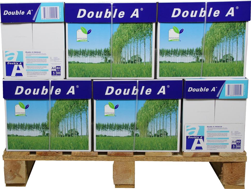 Double A Premium A4 Papier 80 pakken (80 grams) wit