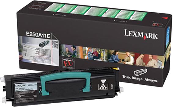 Lexmark E250 / E35x toner zwart