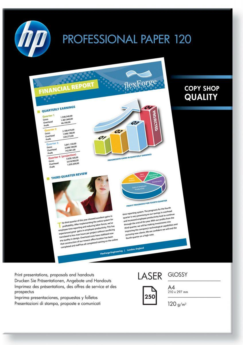 HP Professional glossy paper laser