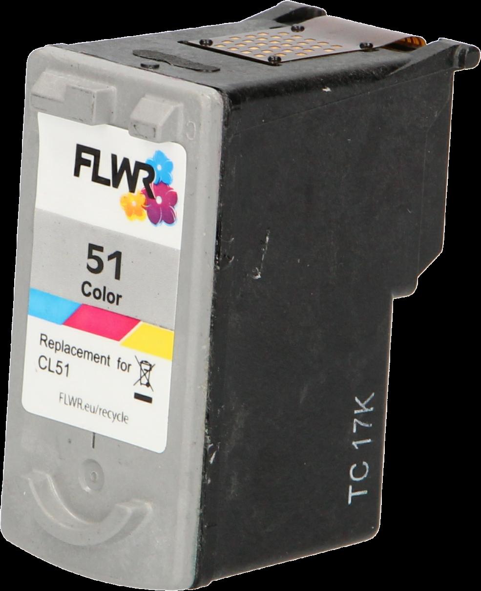 FLWR Canon CL-51 kleur