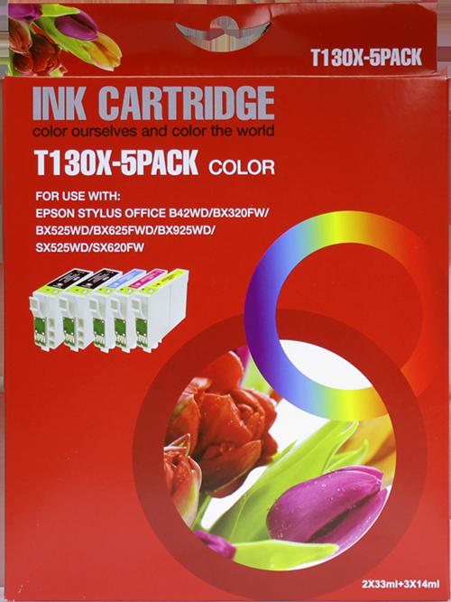 Epson T1306 Multipack zwart en kleur