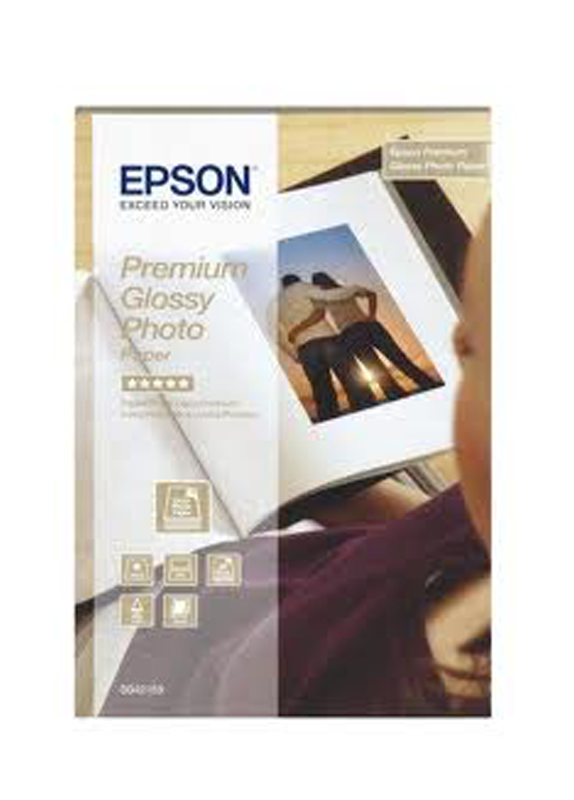 Epson Premium glossy photo paper 255g/m2 100x150mm