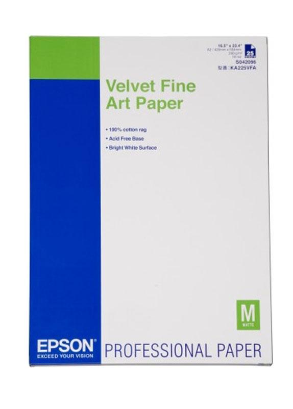 Epson Velvet fine art paper 260g/m2 A2