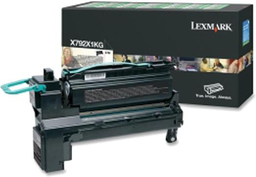 Lexmark X792 HC zwart