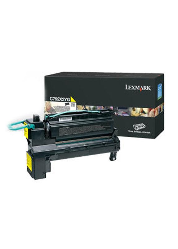 Lexmark X792 geel