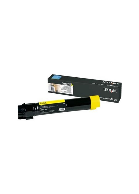 Lexmark C950 HC geel