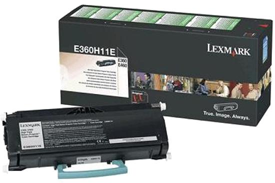 Lexmark E360, E460 zwart