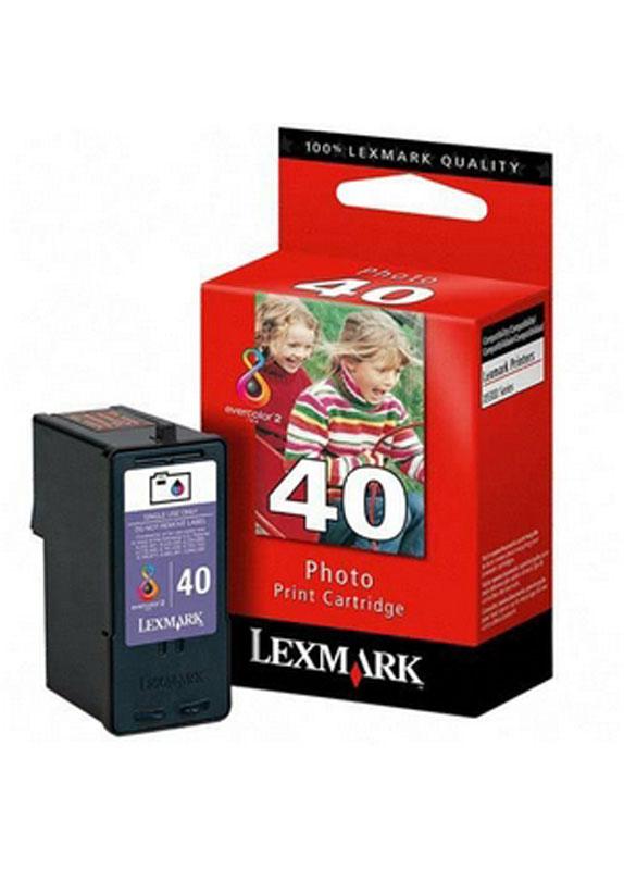 Lexmark 40 foto kleur