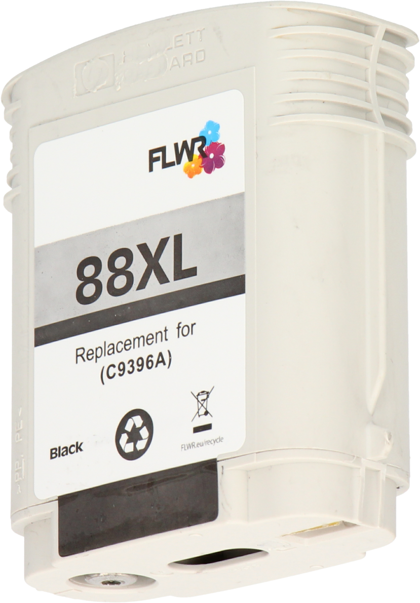 FLWR HP 88 XL zwart