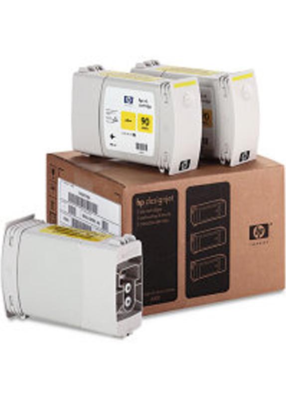 HP 90 3-pack geel
