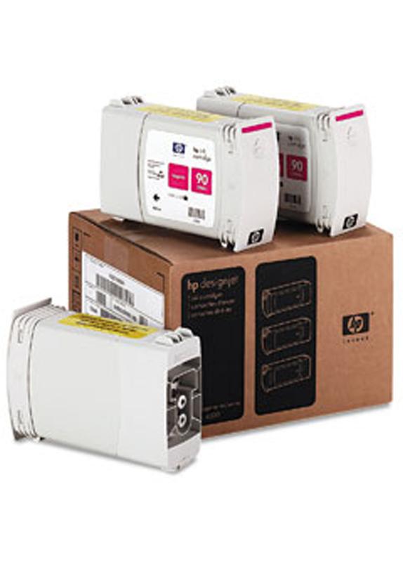 HP 90 3-pack magenta