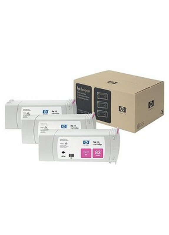 HP 83 3-pack magenta