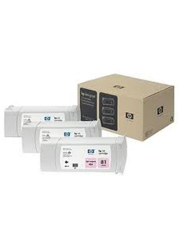 HP 81 3-Pack licht magenta