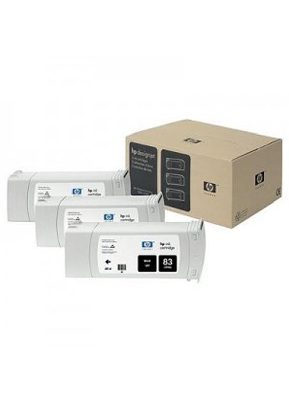 HP 81 3-pack licht cyaan