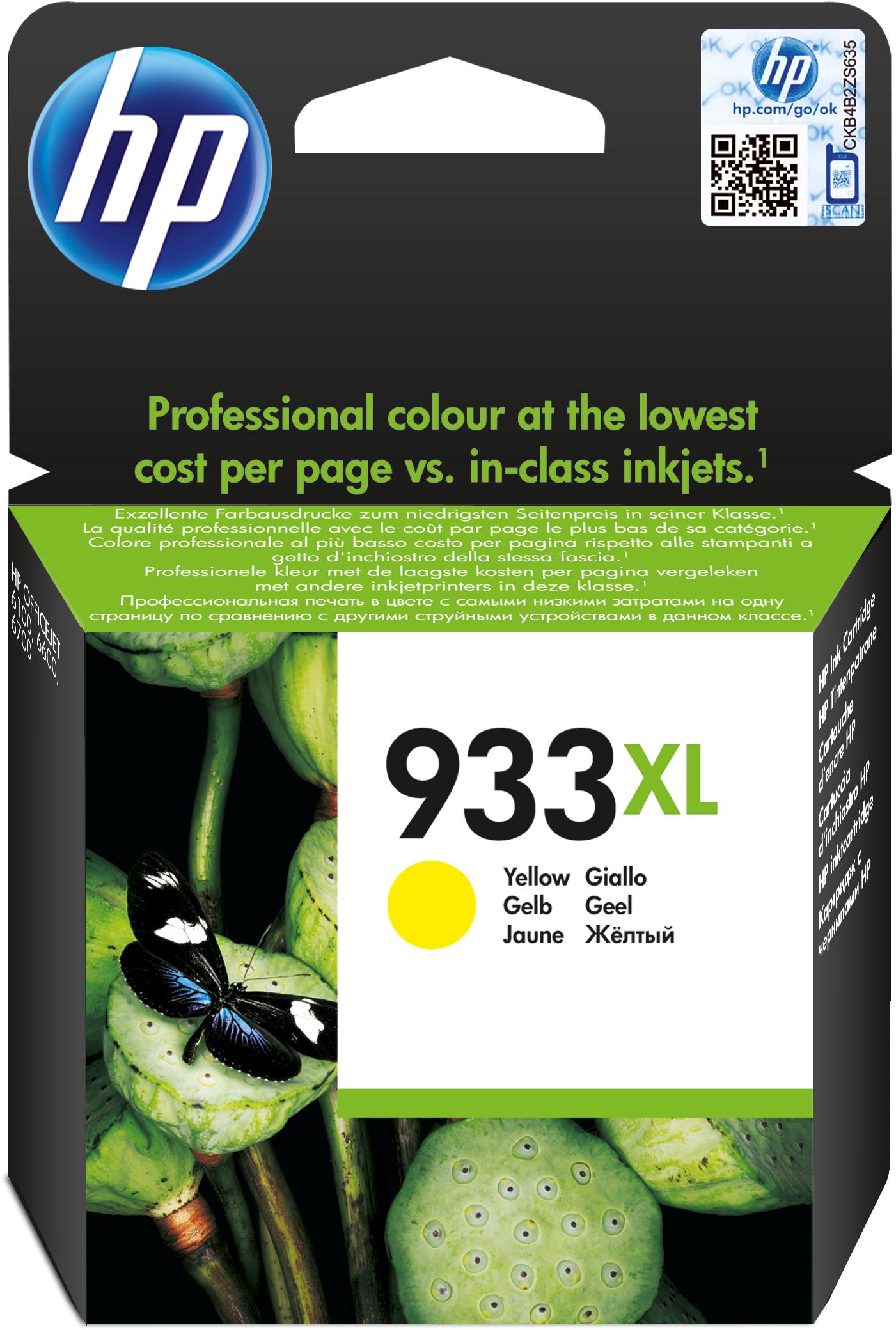 HP 933XL geel