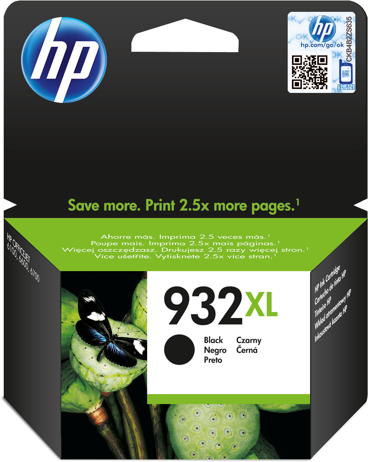 HP 932XL zwart
