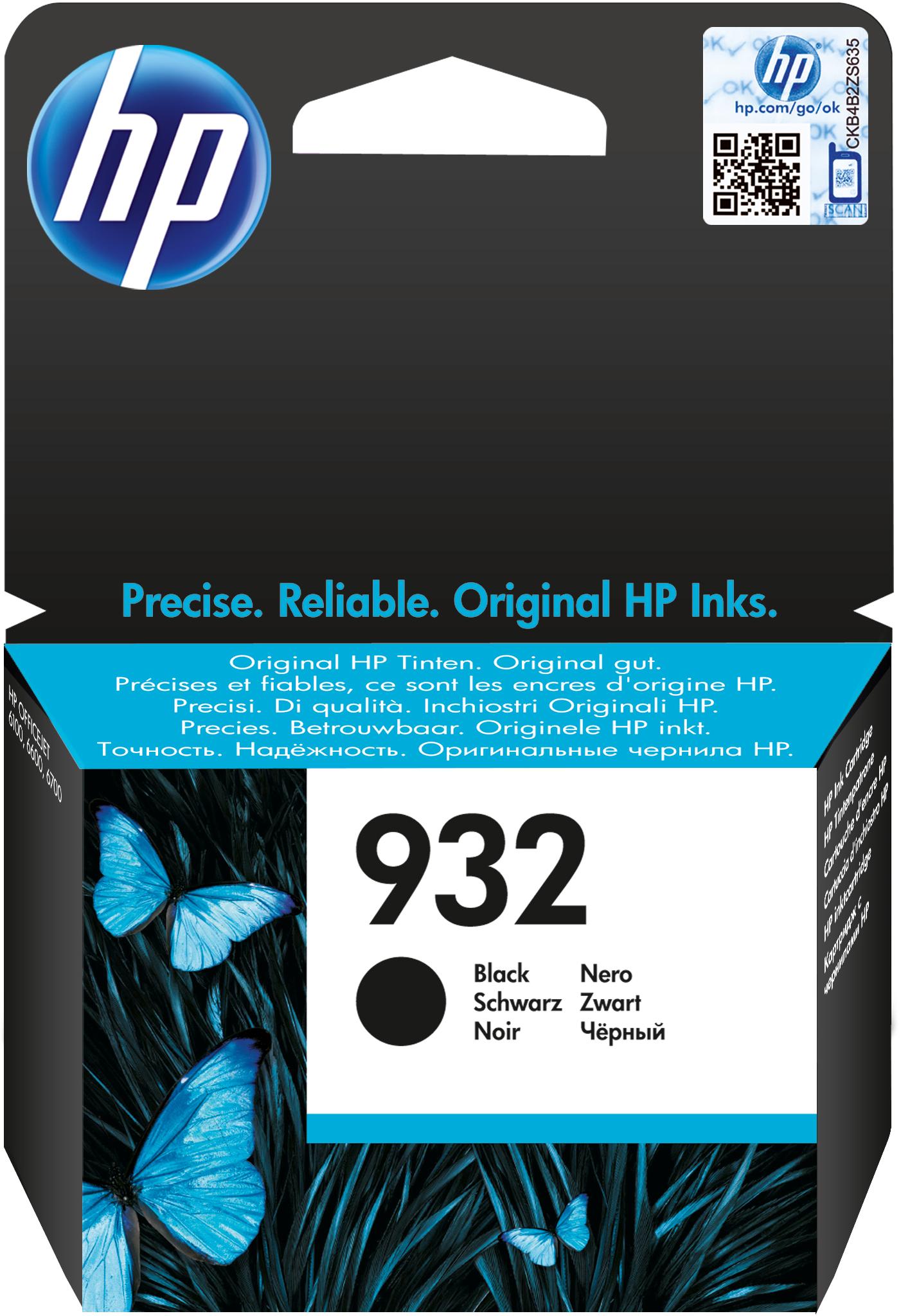 HP 932 zwart