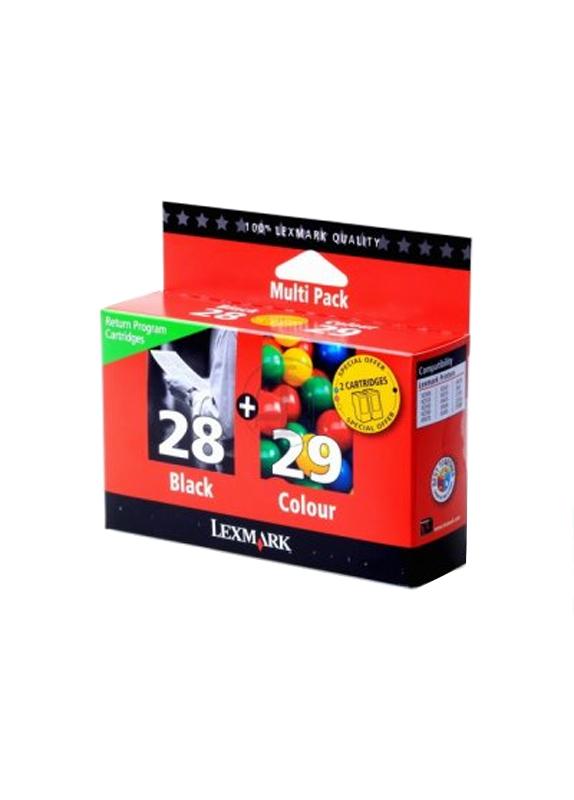 Lexmark 28 en 29 zwart en kleur