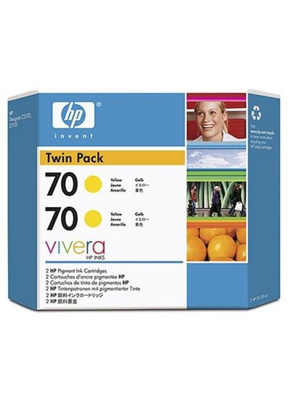 HP 70 geel