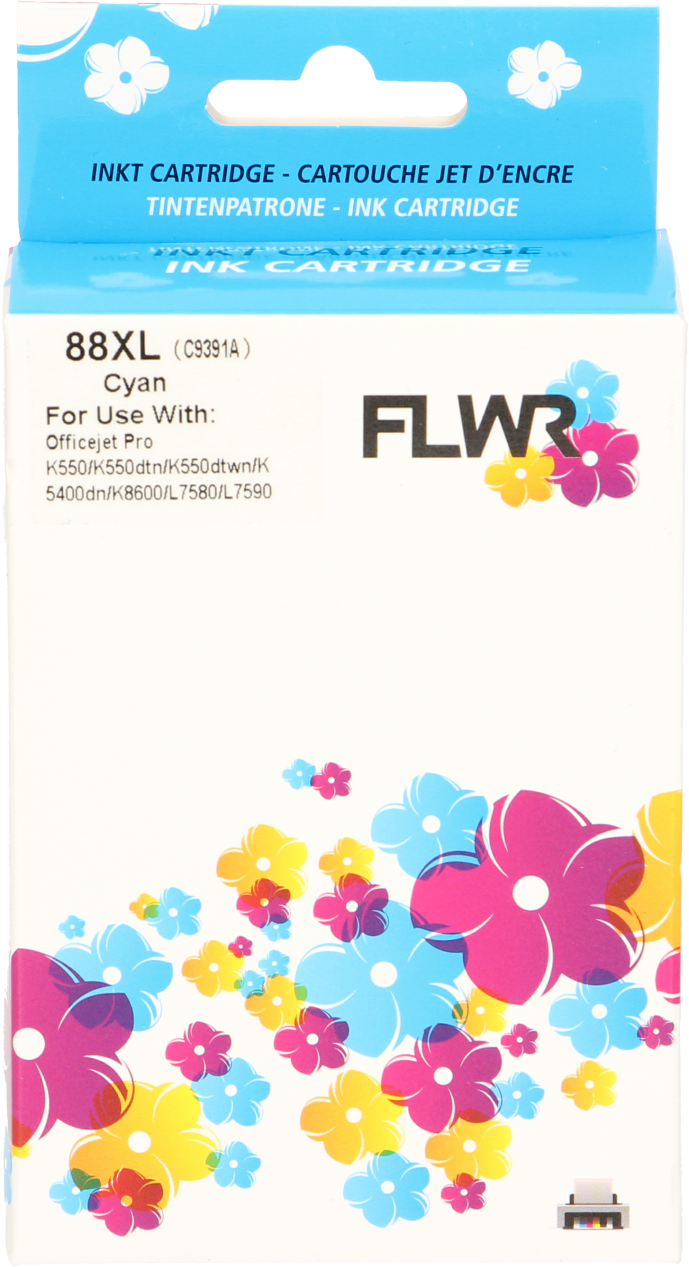 FLWR HP 88 XL cyaan