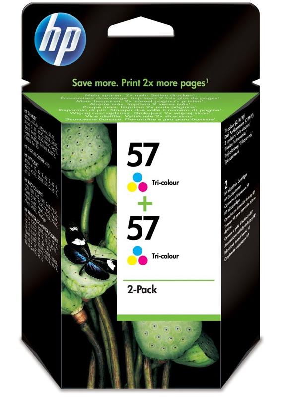 HP 57 Duopack kleur