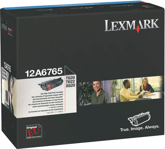 Lexmark 12A6765 zwart