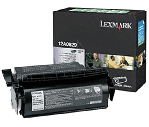 Lexmark 12A0829 zwart