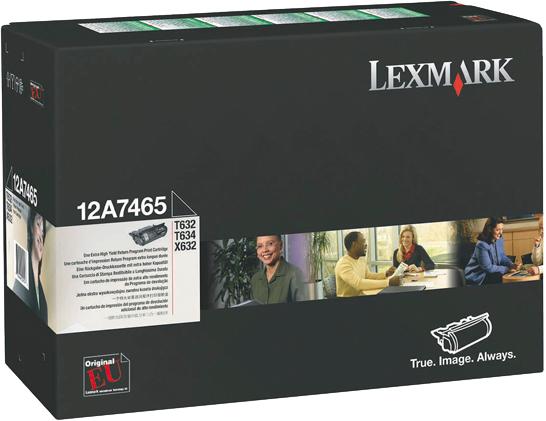 Lexmark 12A7465 zwart