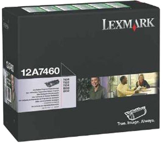 Lexmark 12A7460 zwart