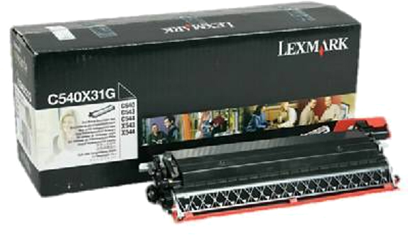 Lexmark C540X31G zwart