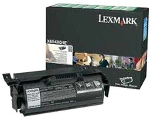 Lexmark X654X04E zwart