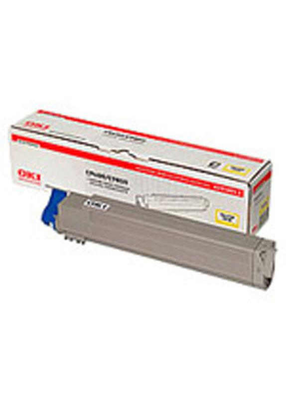 Oki C9600/C9650/C9800/C9850 Toner geel