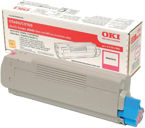Oki C5600 / C5700 Toner magenta