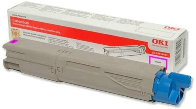 Oki C3300/C3400/C3450/C3600 Toner HC magenta
