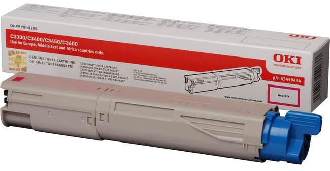 Oki C3300/C3400/C3450/C3600 Toner magenta