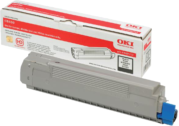 Oki C8600 / C8800 Toner zwart