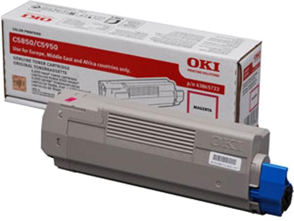 Oki C5850 / C5950 Toner magenta